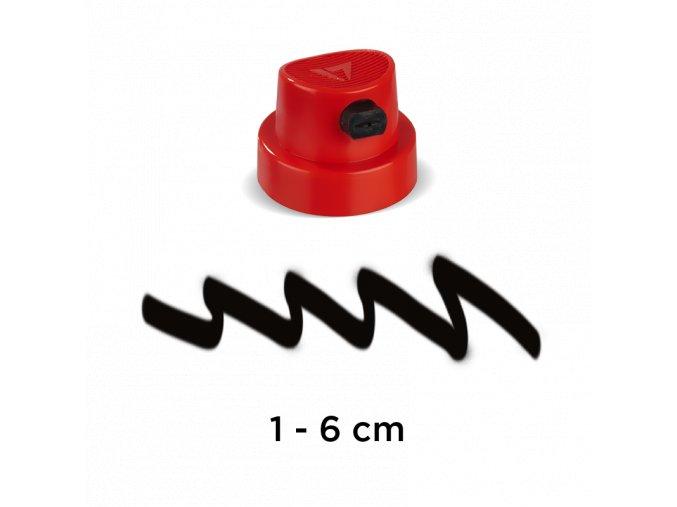 9015 1 flachstrahl cap artist 2 3